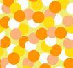 时尚纹理0058,时尚纹理,花纹边框,眩眼 黄色 光斑