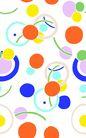 时尚纹理0066,时尚纹理,花纹边框,彩色 圆点 炫目