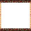 花卉边框0011,花卉边框,花纹边框,左右 细框 支撑