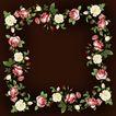 花卉边框0028,花卉边框,花纹边框,