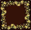 花卉边框0030,花卉边框,花纹边框,