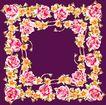 花卉边框0049,花卉边框,花纹边框,
