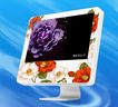 花卉边框0060,花卉边框,花纹边框,台式电脑 计算机 显示器