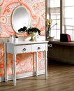 花纹的应用典范0008,花纹的应用典范,花纹边框,镜子 化妆 花篮 点缀 窗台