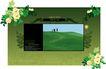 饰角素材0020,饰角素材,花纹边框,饰角 素材 风景图