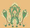 饰角素材0179,饰角素材,花纹边框,