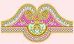 饰角素材0184,饰角素材,花纹边框,