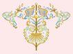 饰角素材0185,饰角素材,花纹边框,