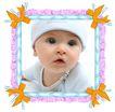 饰角素材0198,饰角素材,花纹边框,婴儿 照片 纪念照