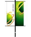 旗帜标示VI模板0110,旗帜标示VI模板,VI素材模板,