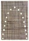 保罗考克斯0021,保罗考克斯,世界设计大师,细小方格 黑色 白点抛物线