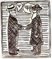 保罗考克斯0023,保罗考克斯,世界设计大师,握手 交流 大胡子 男人