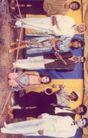 孔乔0028,孔乔,世界设计大师,乐器 小丑 穿裙子的女人 蓝布