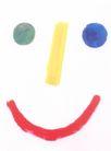 府烈茶0013,府烈茶,世界设计大师,笑脸 彩色五官 红嘴巴