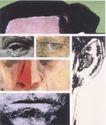 府烈茶0016,府烈茶,世界设计大师,人物类 拼图形式 拼凑的脸