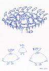 王冠咏0030,王冠咏,世界设计大师,鸟儿 穿着裙 刁食