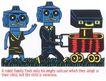 王翰尼0086,王翰尼,世界设计大师,机器人 推车 草地