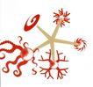 皮埃尔.迪休洛0022,皮埃尔.迪休洛,世界设计大师,触角 五星 红色