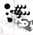 皮埃尔.迪休洛0026,皮埃尔.迪休洛,世界设计大师,黑圆 飞鸟 直线