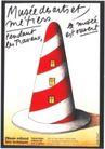 米歇尔.布韦0002,米歇尔.布韦,世界设计大师,红白 斑纹 帽屋