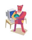 罗克威0042,罗克威,世界设计大师,电脑 键盘 怀抱