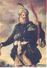 蒙古齐0030,蒙古齐,世界设计大师,领导者 弓箭  威望 络腮胡