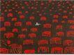 中国机构设计作品0090,中国机构设计作品,中国历年优秀广告作品,树桩 红色 刺眼