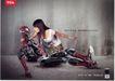 信息通讯用品0005,信息通讯用品,中国广告作品年鉴2007,少女 拯救 蜘蛛侠