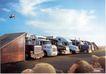 家电及关联品0006,家电及关联品,中国广告作品年鉴2007,卡车 排列 货运