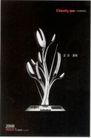 家电及关联品0016,家电及关联品,中国广告作品年鉴2007,广告年鉴 黑色背景 叉子勺子