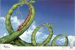 家电及关联品0024,家电及关联品,中国广告作品年鉴2007,豆角 新鲜 过山车