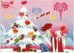 食品0024,食品,中国广告作品年鉴2007,圣诞节 烟花 情侣 爱情