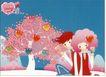 食品0026,食品,中国广告作品年鉴2007,爱情字树 心 幸福 男女