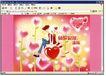 食品0027,食品,中国广告作品年鉴2007,水晶之恋 浪漫 花朵 背靠背