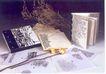中国书籍装贞设计0084,中国书籍装贞设计,书籍装贞,鲜花 枯枝 笔记本