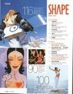 版式设计之目录集锦0027,版式设计之目录集锦,书籍装贞,滑雪 心动的女人 海边 呼吸 张开手臂