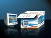 LEP彩色显示器0001,LEP彩色显示器,企业广告PSD分层,LCD 纸箱 显示器