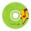 听吧音乐网0001,听吧音乐网,企业广告PSD分层,纯绿 光碟 音符