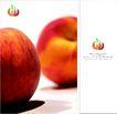 新乔水果0007,新乔水果,企业广告PSD分层,红嫩 果皮 成熟