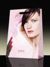 欧维思化妆品0011,欧维思化妆品,企业广告PSD分层,袋子 模特脸部 唇膏
