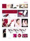 欧维思化妆品0012,欧维思化妆品,企业广告PSD分层,女模特 张贴画 口红