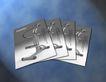 翔龙健身器材0005,翔龙健身器材,企业广告PSD分层,银卡 健身 凭证