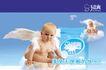 贝爽婴儿用品0013,贝爽婴儿用品,企业广告PSD分层,婴儿用品 可爱婴儿 长翅膀