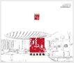 鸿运来装饰0003,鸿运来装饰,企业广告PSD分层,铅笔 描图 客厅