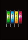 株洲四季花园0007,株洲四季花园,优秀房地产广告年鉴2007,竖旗 并排 插立