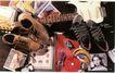 服装美容0026,服装美容,商业型录设计,吉他 碟子 手表 鞋子