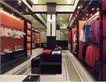 上海顶级商业空间0081,上海顶级商业空间,商业空间展示,棉衣 唐装 展示柜