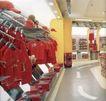 上海顶级商业空间0084,上海顶级商业空间,商业空间展示,红色 帽子 布娃娃