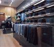 上海顶级商业空间0090,上海顶级商业空间,商业空间展示,牛仔裤 休闲衣 悬挂