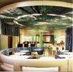 国际商业空间0083,国际商业空间,商业空间展示,树叶 绿色 餐桌